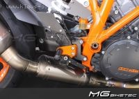 MG-Biketec Fussrastenanlage
